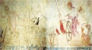 Η αρπαγή της Περσεφόνης το ψηφιδωτό στην Αμφίπολη