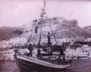 Το σκάφος του καπετάνιου Γκίνη γνωστού και ως Ντιρλαντά