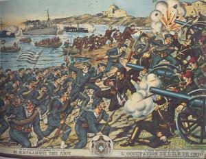 Η απελευθέρωση της Χίου το 1912 - Ιστορικό απελευθερώσεως