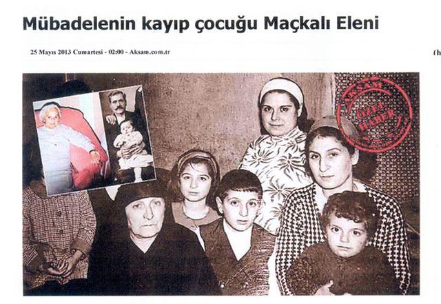 Η ιστορία της Ελένης της Ρωμιάς η οποία στον ξεριζωμό του '22 χάθηκε στην Τουρκία. Την αναζητούσε ο πατέρας της σε όλη τη ζωή του και τελικά τη βρήκε ο εγγονός του στην Τραπεζούντα