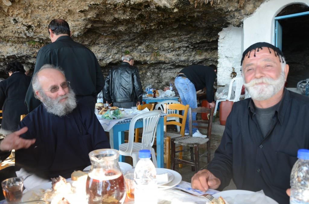 Ο παπάς και ο γιδάρης, δυό βιβλικές φυσιογνωμίες