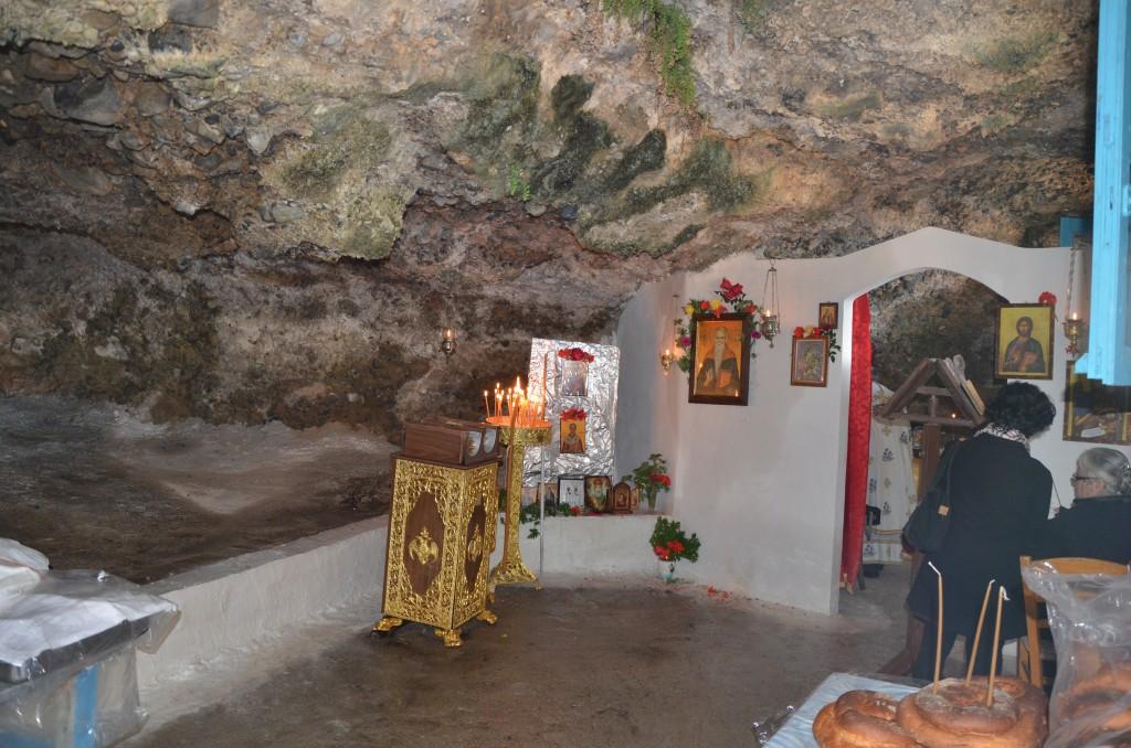 Το ιερό μεσ' τη σπηλιά