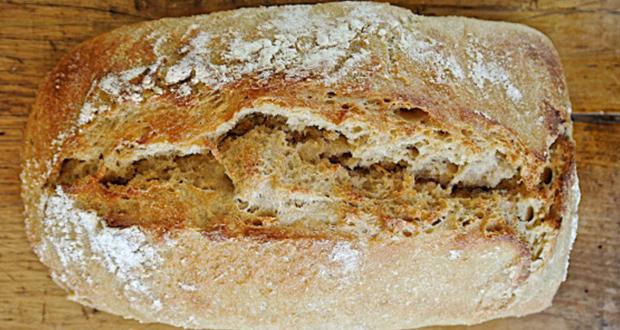 Ψωμί ρουφτένιο (με ρεβίθι/ρουβύθι)