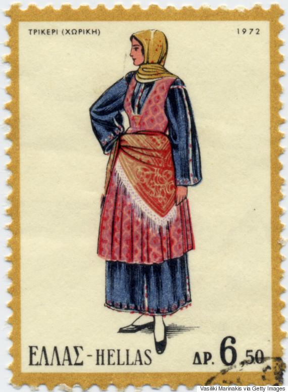 Γυναικεία φορεσιά χωρικής, Τρίκερι (1972). Συνήθως κατασκευαζόταν από χειροποίητα υφάσματα, με τα βαμβακερά πουκάμισα και σαγιάδια και τα μάλλινα σεγκούνια από πάνω.