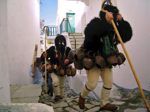 Οι Γέροι του Σκυριανού Καρναβαλιού