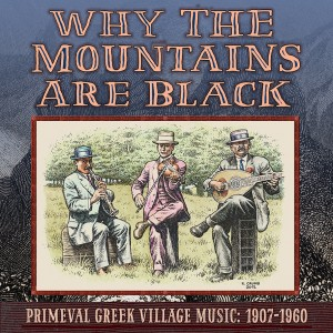 Why the mountains are black